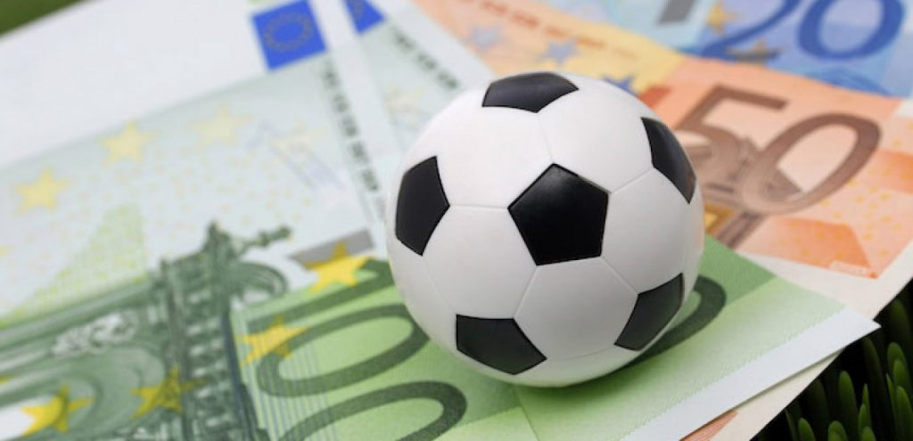 money from football betting photo