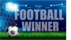 football winner logo