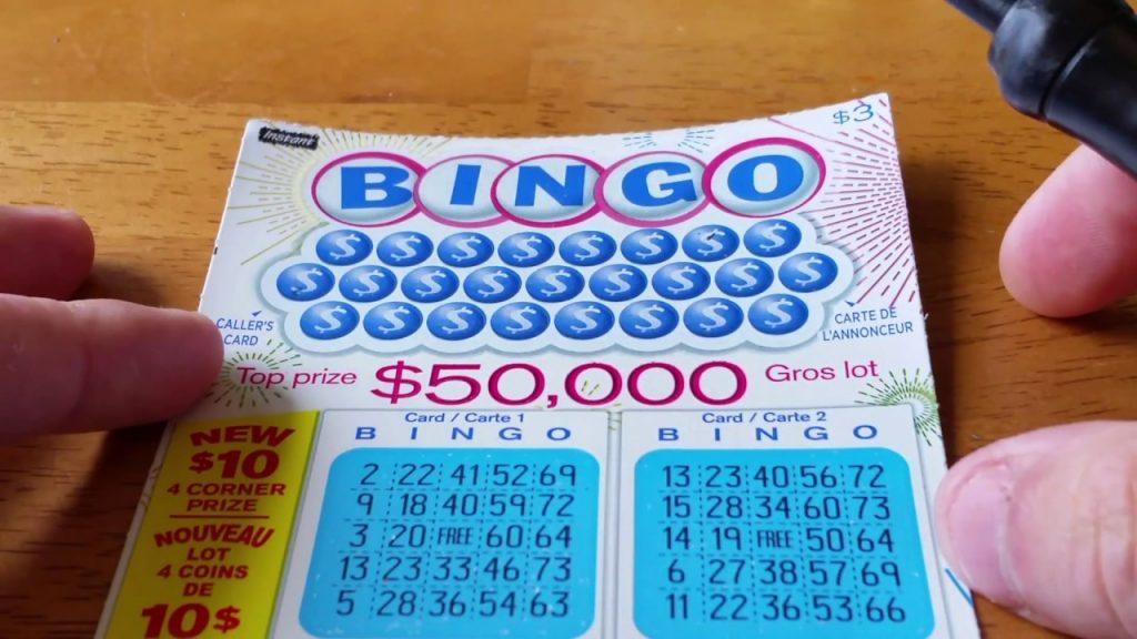 lottery ticket photo