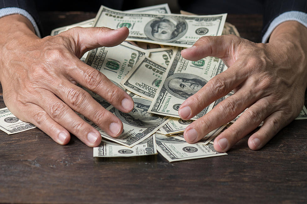 Money in hand photo